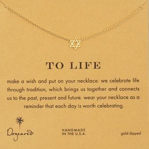 Star of David Dogeared Necklace